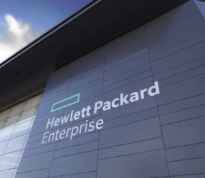 Facade et Enseigne Hewlette Packard Enterprise