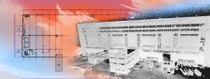 Plan 2D et Nuage de point bâtiment industriel EDF