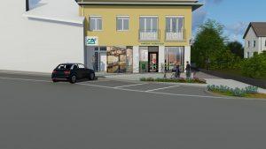 Extrait Vidéo 3D Façade Banque Crédit Agricole Marboz