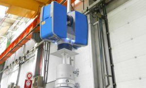 Scanner laser 3D en Action Usine Volvo