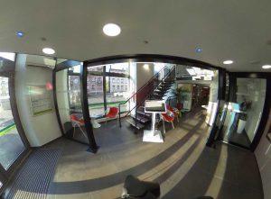 Photo 360° Salon d'accueil Agence Bancaire Crédit Agricole
