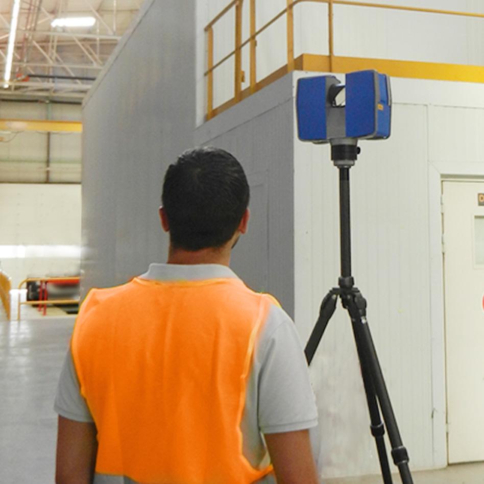 Opérateur Scanner en relevé Scanner Laser 3D