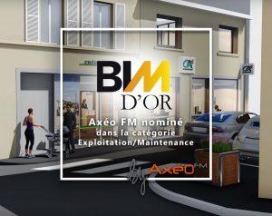 Nominé au BIM d'Or Maquette numérique 3D et vidéo 3D réseau agence bancaire Crédit Agricole