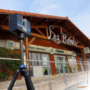 Relevé Scanner laser 3D Agence Bancaire Crédit Agricole
