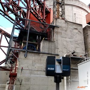 Relevé Scanner laser 3D CNPE EDF