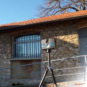 Relevé Scanner laser 3D Site tertiaire EDF Donzère