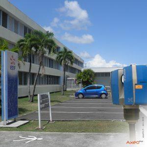 Relevé Scanner laser 3D Site EDF Guadeloupe