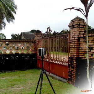 Relevé Scanner laser 3D Site EDF Guyane