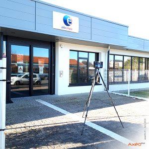 Relevé Scanner laser 3D Agence Pôle Emploi Aquitaine