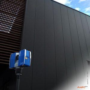 Relevé Scanner laser 3D Usine Safran Belgique