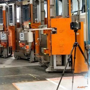 Relevé Scanner laser 3D Usine Safran Gennevilliers