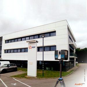 Relevé Scanner laser 3D Site tertiaire EDF Maxéville