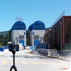 Relevé Scanner Laser 3D site EDF Tricastin