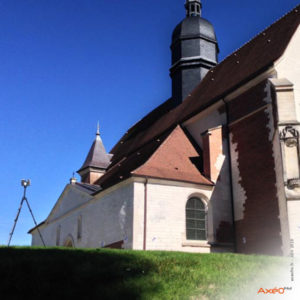 Relevé Scanner laser 3D Eglise Saint-Phal