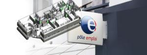 Maquette Numérique 3D Agence Pôle Emploi